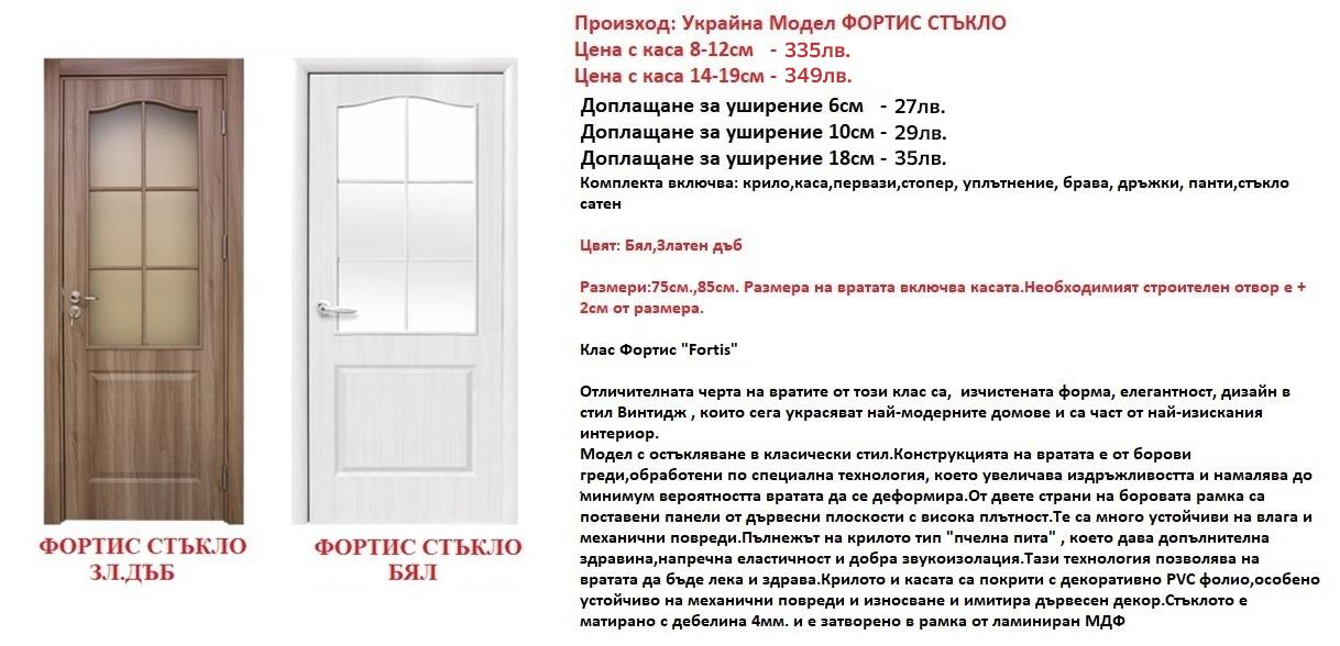 Украйнска интериорна врата